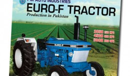 PM Auto Indistries EURO-F Tractor production in Pakistan