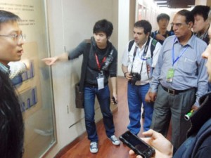 MOBILE WORLD visits LONCIN Factory in Chongqing-1