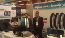 Diamond Tyre participates in Kabul Expo