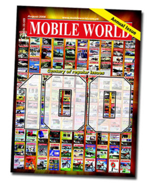 cover page 100 editions mobile world magazine