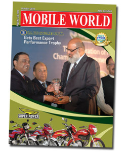 MOBILE WORLD Magazine Super Power Export Trophy front cover