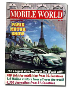 MOBILE WORLD Magazine cover page -14-December-2000
