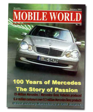 MOBILE WORLD Magazine cover page -15-January-2001