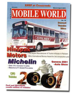 MOBILE WORLD Magazine cover page -17-March-April-2001