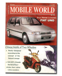 MOBILE WORLD Magazine cover page -19-June-2001