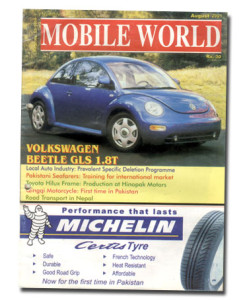 MOBILE WORLD Magazine cover page -20-July-August-2001