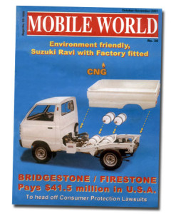 MOBILE WORLD Magazine cover page -22-October-November-2001