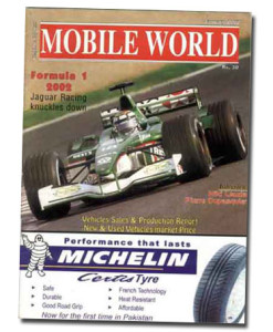 MOBILE WORLD Magazine cover page -23-December-January-2002