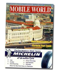 MOBILE WORLD Magazine cover page -25-March-2002
