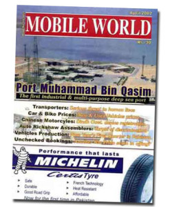 MOBILE WORLD Magazine cover page -26-April-2002