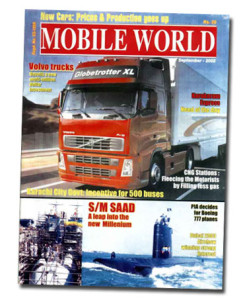 MOBILE WORLD Magazine cover page -30-September-2002