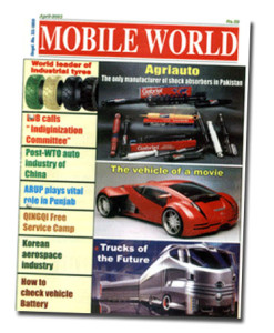 MOBILE WORLD Magazine cover page -37-April-2003