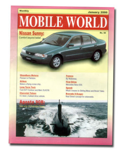 MOBILE WORLD Magazine cover page -5-JAN-2000