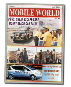 MOBILE WORLD Magazine cover page -9-July-2000