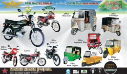 MOBILE WORLD MAGAZIN SUPER STAR MOTORCYCLES AND RICKSHAWS