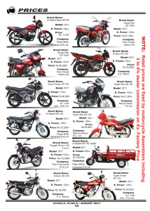 Motorcycle Price in Pakistan page MOBILE WORLD Magazine-2