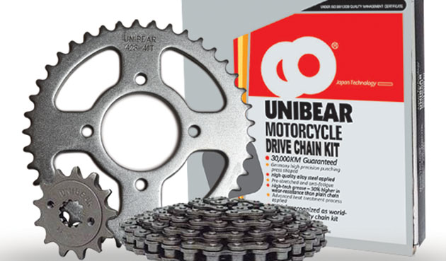 unibear motorcycle drive chain kit set mobile world magazine
