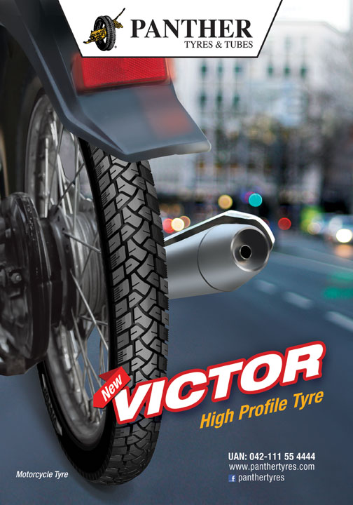 Panther tyre Victor