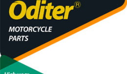 ODITER motorcycle parts logo