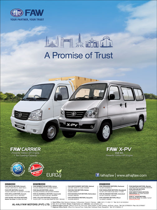 A Promise of Trust FAW Carrier and FAW XPV