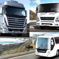hyundai trucks bus