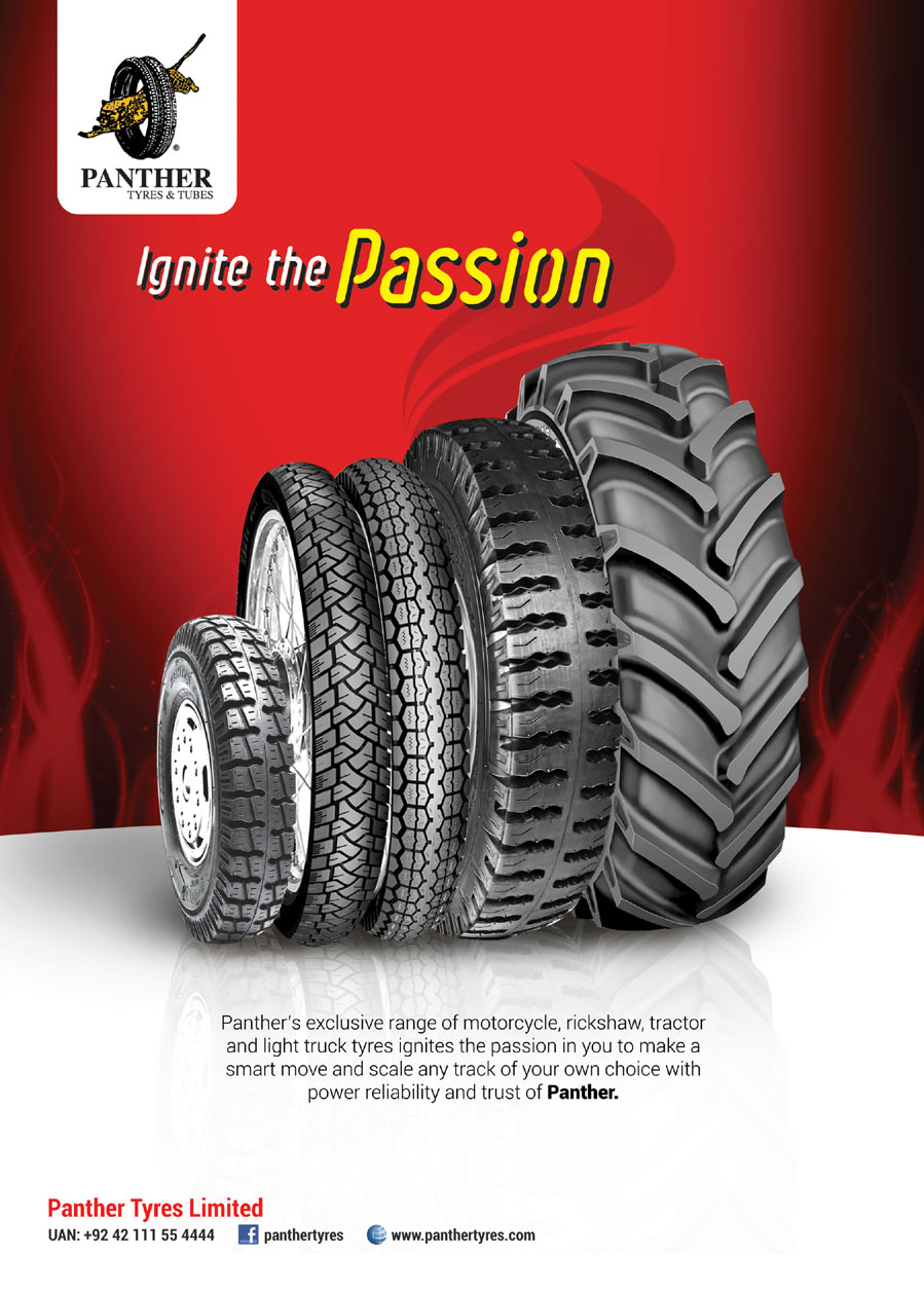 Panther Tyre Advertisement