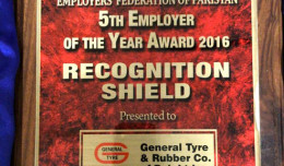 GTR employer award