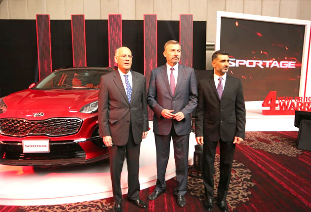 KIA Lucky Introduces Sportage- First-ever All Wheel Vehicle in Pakistan